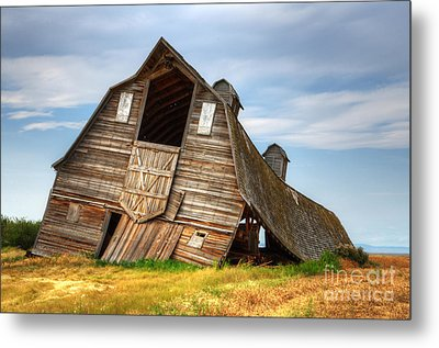 The Beauty Of Barns  Metal Print by Bob Christopher