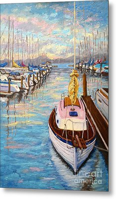 The Beauty Of Sausalito  Metal Print by Francesca Kee