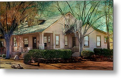 The Beckley House Metal Print