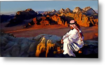 The Bedouin Metal Print by Jann Paxton