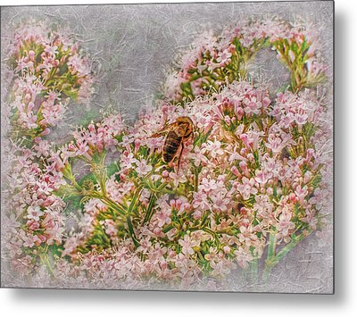 The Bee Metal Print by Hanny Heim