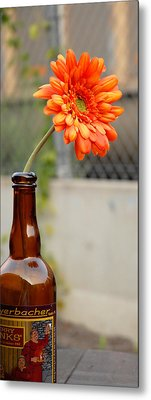 Metal Print featuring the photograph The Beer Garden by Lena Wilhite