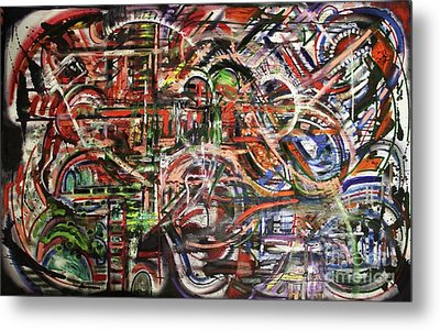 The Beheading Of Creative Impulse Part 2 Metal Print by Michael Kulick