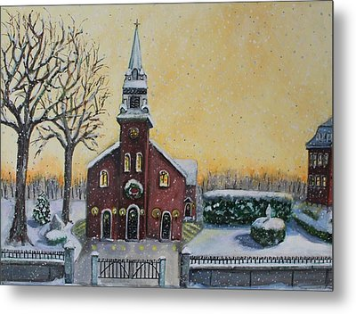 The Bells Of St. Mary's Metal Print by Rita Brown