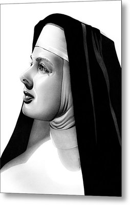 The Bell's Of St. Mary's Sister Mary Benedict Metal Print by Fred Larucci