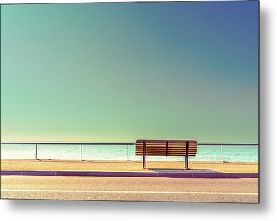 The Bench Metal Print by Arnaud Bratkovic