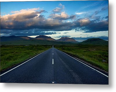 Metal Print featuring the photograph The Best Drive...ever... by Stephen Taylor