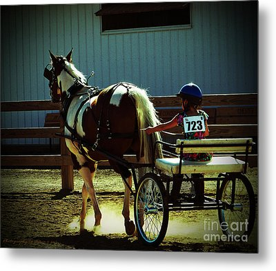 Metal Print featuring the photograph The Big And The Tiny by Gena Weiser