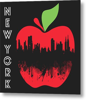 the Big Apple Metal Print by Mark Ashkenazi