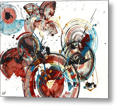 Metal Print featuring the painting The Big Bang by Kris Haas