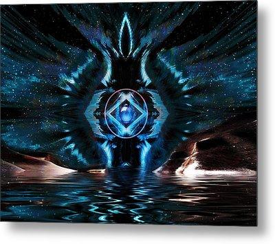 The Big Bang Metal Print by Mario Carini