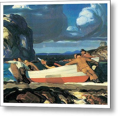The Big Dory Metal Print by George Bellows