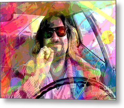 The Big Lebowski Metal Print by David Lloyd Glover