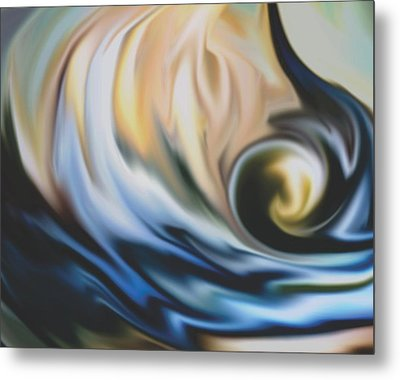 The Big Wave Metal Print by Jessie J De La Portillo