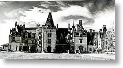 The Biltmore Estate 2 Metal Print by Luther Fine Art