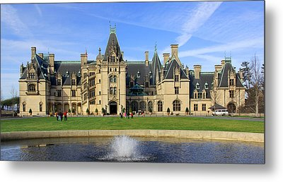 The Biltmore Estate - Asheville North Carolina Metal Print by Mike McGlothlen