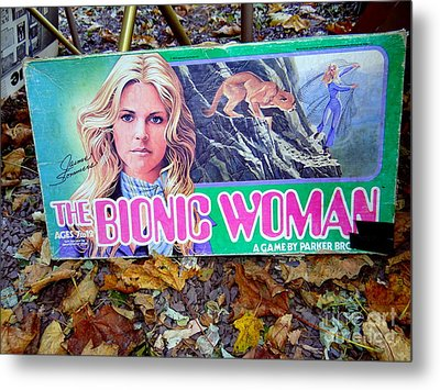 The Bionic Woman Metal Print