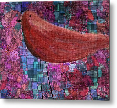 The Bird - 23a01a Metal Print by Variance Collections