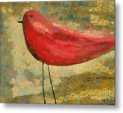The Bird - K03b Metal Print by Variance Collections