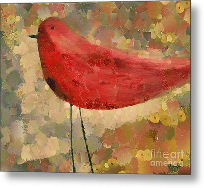 The Bird - K04d Metal Print by Variance Collections