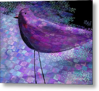 The Bird - S40b Metal Print by Variance Collections