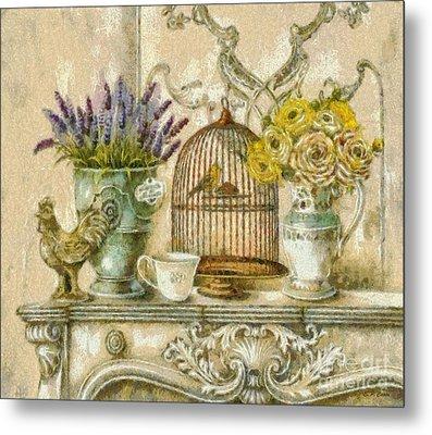 The Birdcage Metal Print by Elizabeth Coats