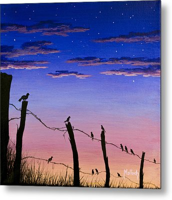 The Birds - Morning Has Broken Metal Print