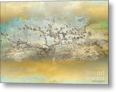 Metal Print featuring the photograph The Birdy Tree by Chris Armytage