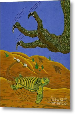 The Birth Of Archelon Metal Print