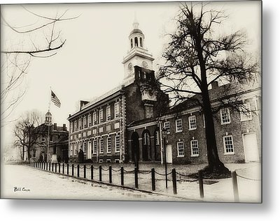 The Birthplace Of Freedom Metal Print by Bill Cannon