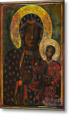 The Black Madonna Metal Print