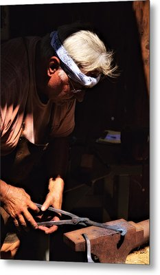 The Blacksmith Metal Print
