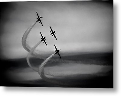 The Blades In Formation Sunderland Air Show 2014 Metal Print by Scott Lyons