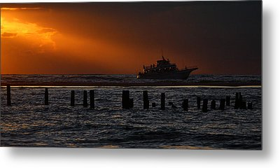 The Blessed Crew - Outer Banks Metal Print