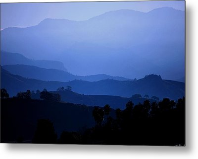 The Blue Hills Metal Print by Matt Harang