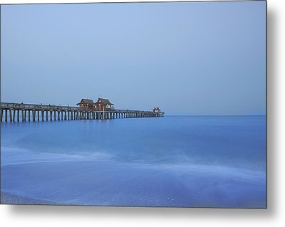 The Blue Hour Metal Print by Kim Hojnacki