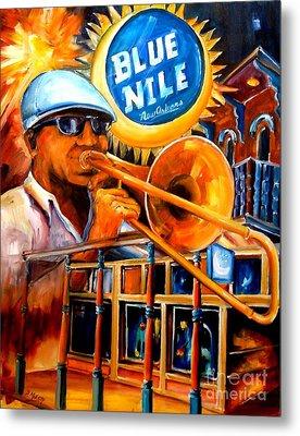 The Blue Nile Jazz Club Metal Print by Diane Millsap