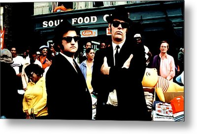 The Blues Brothers Metal Print