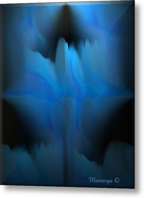 The Blues Metal Print by Ines Garay-Colomba