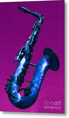 The Blues Metal Print by Wingsdomain Art and Photography