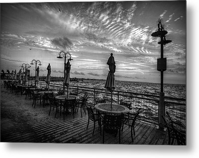 The Boardwalk Metal Print by Linda Unger