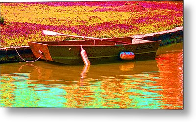 The Boat Metal Print by Barbara McDevitt