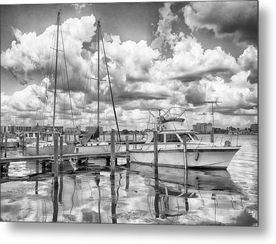 Metal Print featuring the photograph The Boat by Howard Salmon