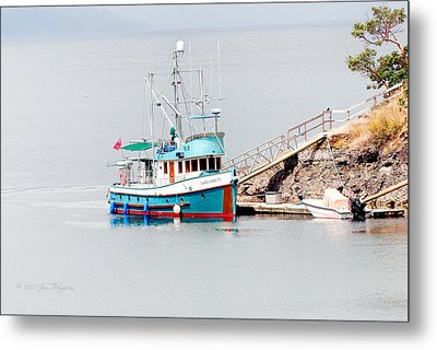 Metal Print featuring the photograph The Boat by Jim Thompson