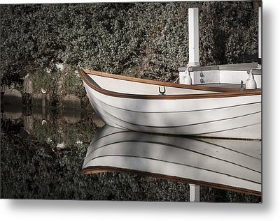 Metal Print featuring the photograph The Boat Narcissus by Kevin Bergen