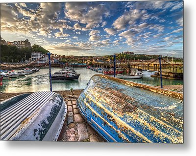 The Boats Of Folkestone Metal Print by Tim Stanley