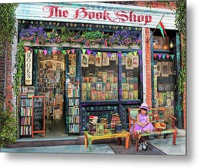 The Bookshop Kids Variant 1 Metal Print