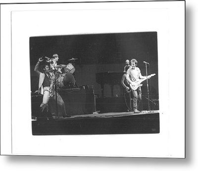 The Boss And Clarence 2 Metal Print by Bc Adamkowski