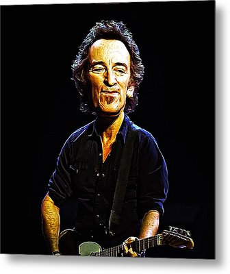The Boss Metal Print by Bill Cannon