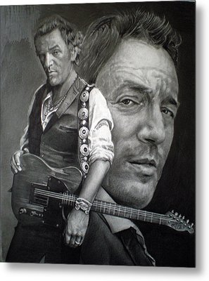 The Boss Metal Print by Raoul Alburg
